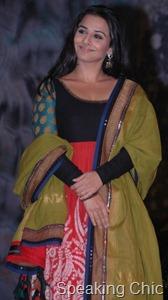 Vidya Balan in Sabyasachi