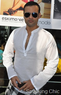 Rohit Roy Tresmode launch
