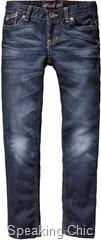 Slim fit jeans girls Tommy Hilfiger