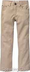 Slim fit pants boys Tommy Hilfiger