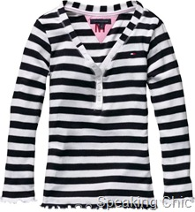 Striped top girls Tommy Hilfiger