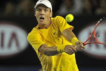 Tomas Berdych clothes Australian Open 2011