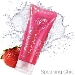 Lakme Strawberry Blast face wash