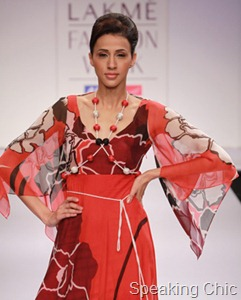Arpan Vohra dress at LFW S/R 2011