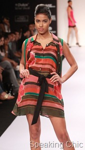 Chaitanya Rao dress at LFW S/R 2011