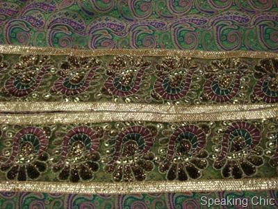 brocade sari border