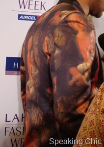 Rajat Tangri jacket at LFW S/R 2011