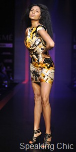 Shantanu Nikhil dress at LFW S/R 2011