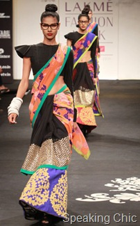 Sabyasachi Mukherjee at LFW S/R 2011