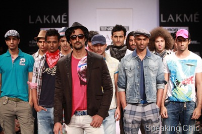 Energie show at LFW S/R 2011