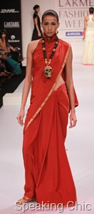 Eina Ahluwalia accessories at LFW S/R 2011