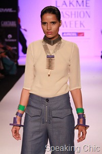 Suhani Pittie at LFW S/R 2011
