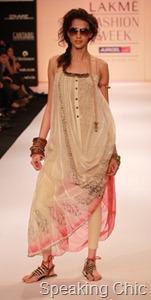 Babita Malkani at LFW S/R 2011
