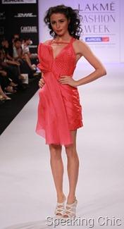 Jatin Varma dress at LFW S/R 2011