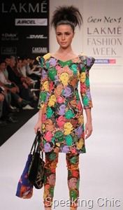 Manas Dash GenNext designer at LFW S/R 2011