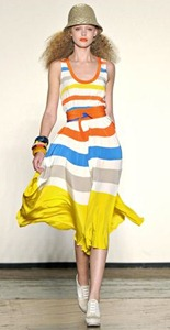 Marc by Marc Jacobs stripes dress