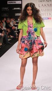 Miriam Strehlau GenNext designer at LFW S/R 2011