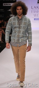 Sanjay Hingu at LFW S/R 2011