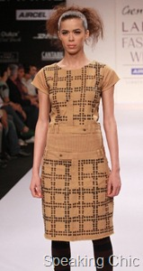 Shivaji Dutta dress at LFW S/R 2011