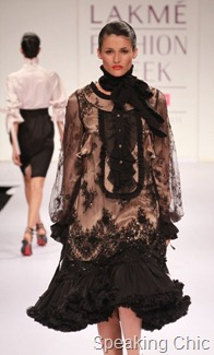 Somarta by Tamae Hirokaro at LFW S/R 2011