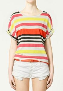 Zara striped tee