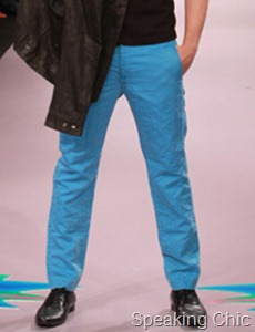 Blue pants from energie