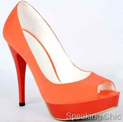 Tresmode orange sandal