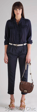 French Connection shirt and trousers