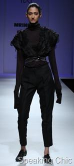 Mrinalini at WIFW A/W 2011