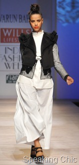 Varun Bahl at WIFW A/W 2011
