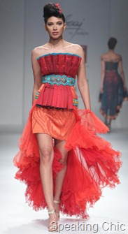 Saaj by Ankita at WIFW A/W 2011