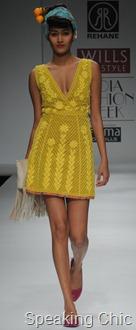 Rehane WIFW dress