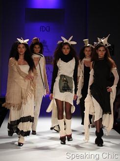 Prama by Pratima Pandey at WIFW A/W 2011
