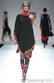Ashima-Leena at WIFW A/W 2011