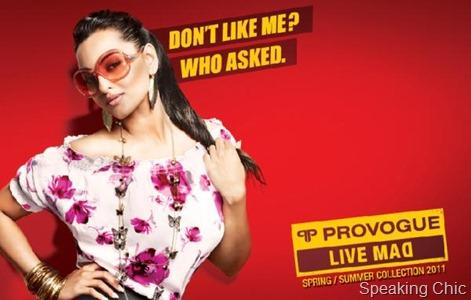 Sonakshi Sinha Provogue Live Mad