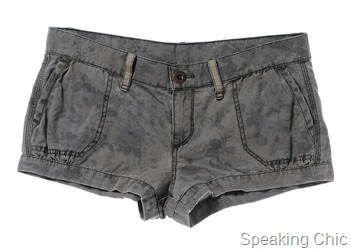 UCB - Shorts with slant pocket