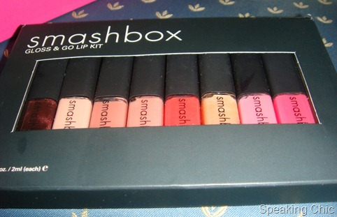 Smahbox lip gloss set