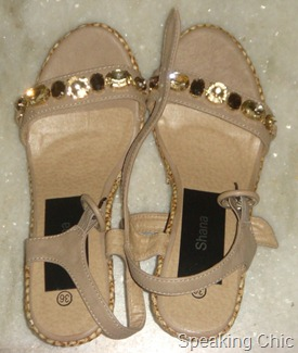 Studded sandals from Shana