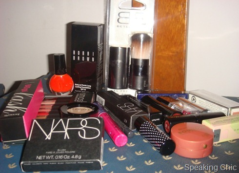 Makeup haul from Spain