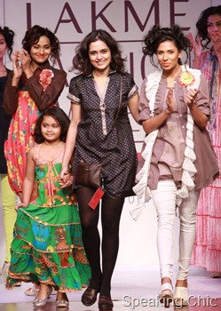 Priyadarshini Rao at LFW SR 2011