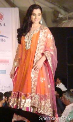 Simone Singh in Manish Malhotra