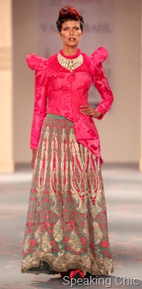 Varun Bahl at Synergy1 Delhi Couture Week 2011