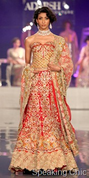 Adarsh Gill at Synergy1 Delhi Couture Week