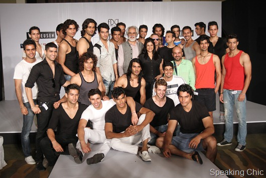 Van Heusen India Men's Week models