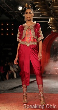 Suneet Varma at Synergy1 Delhi Couture Week 2011