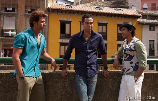 ZNMD actors- Hrithik Roshan, Farhan AKhtar, Abhay Deol