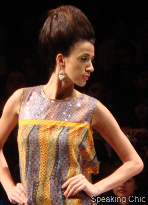 Model for Pria Kataaria Puri at LFW W/F 2011