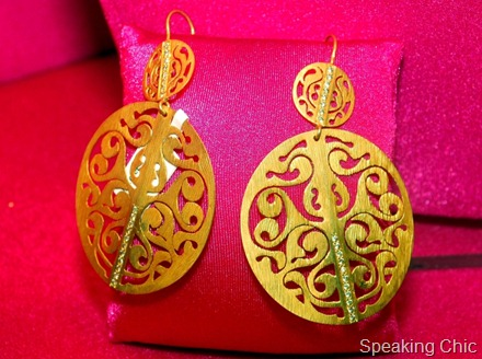 Earrings from World Gold Council