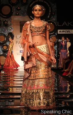 JJ Valaya at LFW W/F 2011