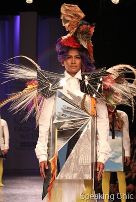 Little Shilpa at LFW W/F 2011